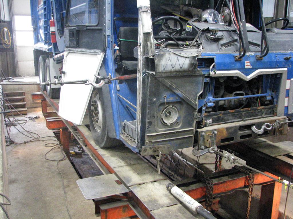 Frame Straightening | Tegeler - Dyersville Towing Company